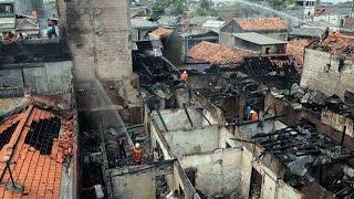 Kebakaran di Kramat Pulo, 6 Rumah Hangus
