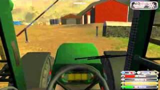 Ensilage avec Farming Simulator 2011