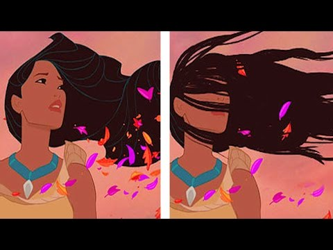 If Disney Princesses Had Realistic Hair