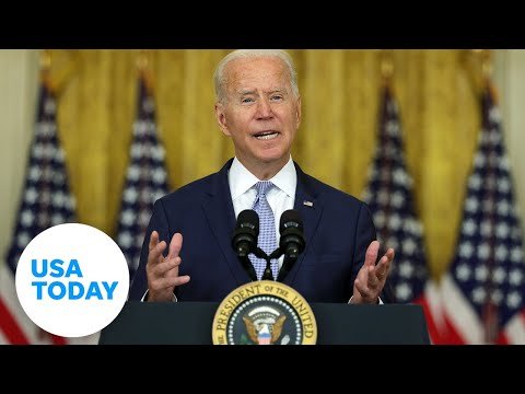 President Biden on the American withdrawal from Afghanistan | USA TODAY
