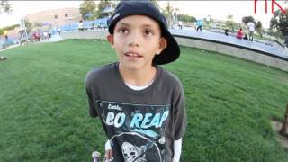 HAVE YOU HEARD OF ???? - 10 YEAR OLD RENE SERRANO SKATEBOARDING