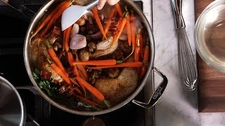 make coq au vin blanc with all clad ltd