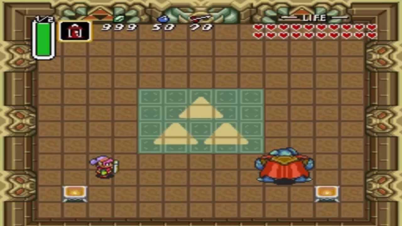 Zelda A Link To The Past Ganon Arrowless