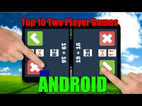 Top 10 Two Player Games for Android (SPLIT SCREEN)