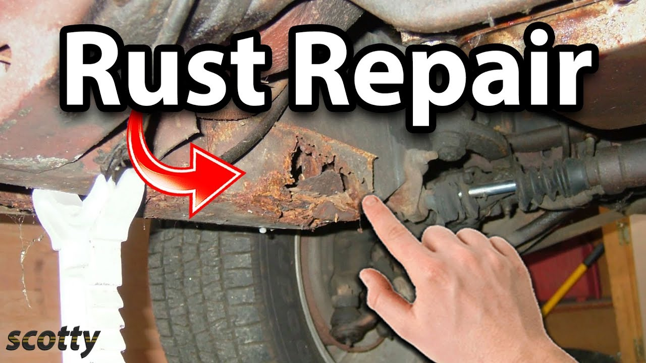 How to Fix Rust on Your Car - YouTube