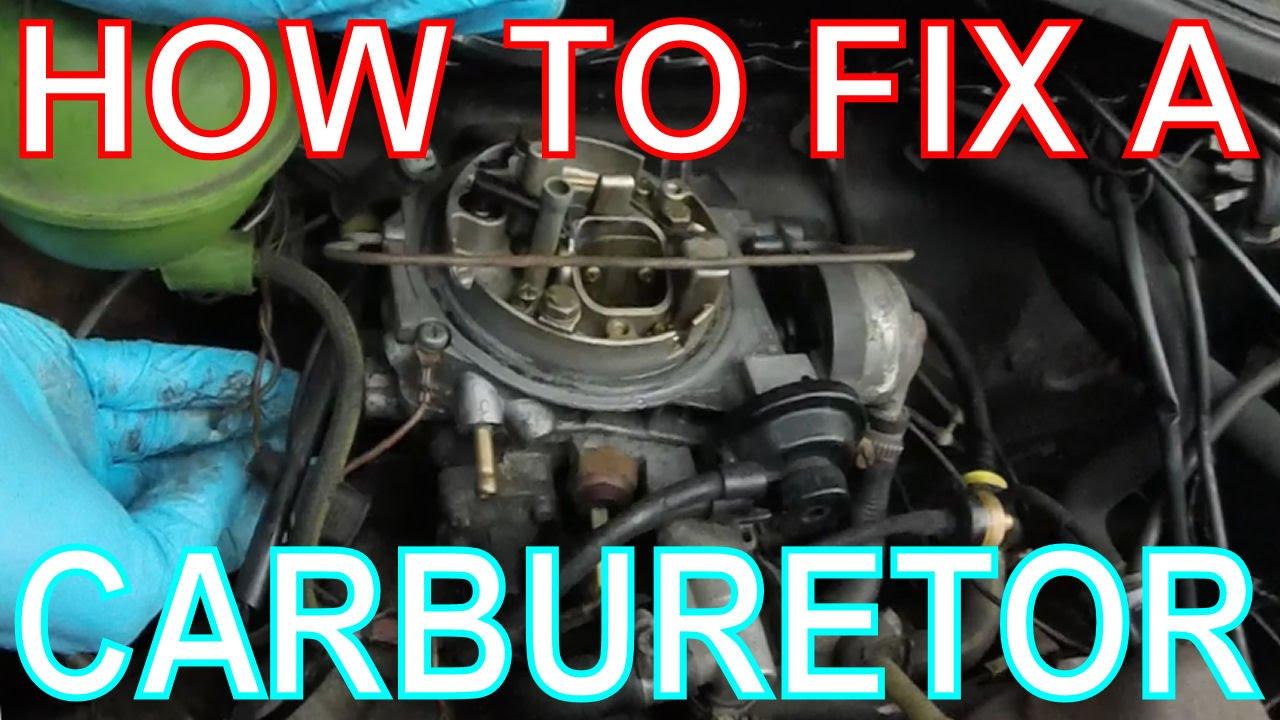 How to Fix a Carburetor High Revving CarbEngine VW Golf Mk2  YouTube