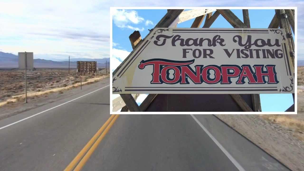 tonopah nevada town tour youtube