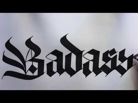 Seb Lester Calligraphy - New Compilation