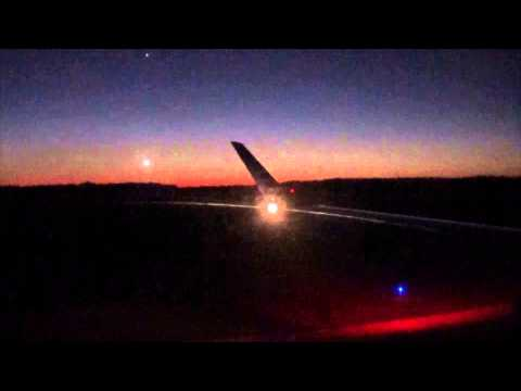 JetBlue Embraer 190 Flight 1315 Evening Takeoff from Jacksonville International Airport