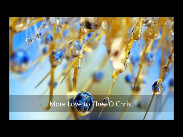 More Love to Thee O Christ Videos De Viajes