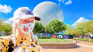 EPCOT Opening Day! Food & Wine Festival 2020 | Rides, Characters, Crowds, Food, UPDATES!