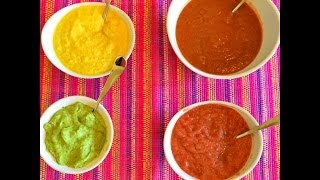 4 Raw Vegan Dressings!