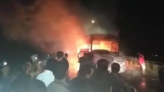 Karamsad Overbridge Accident Video 2