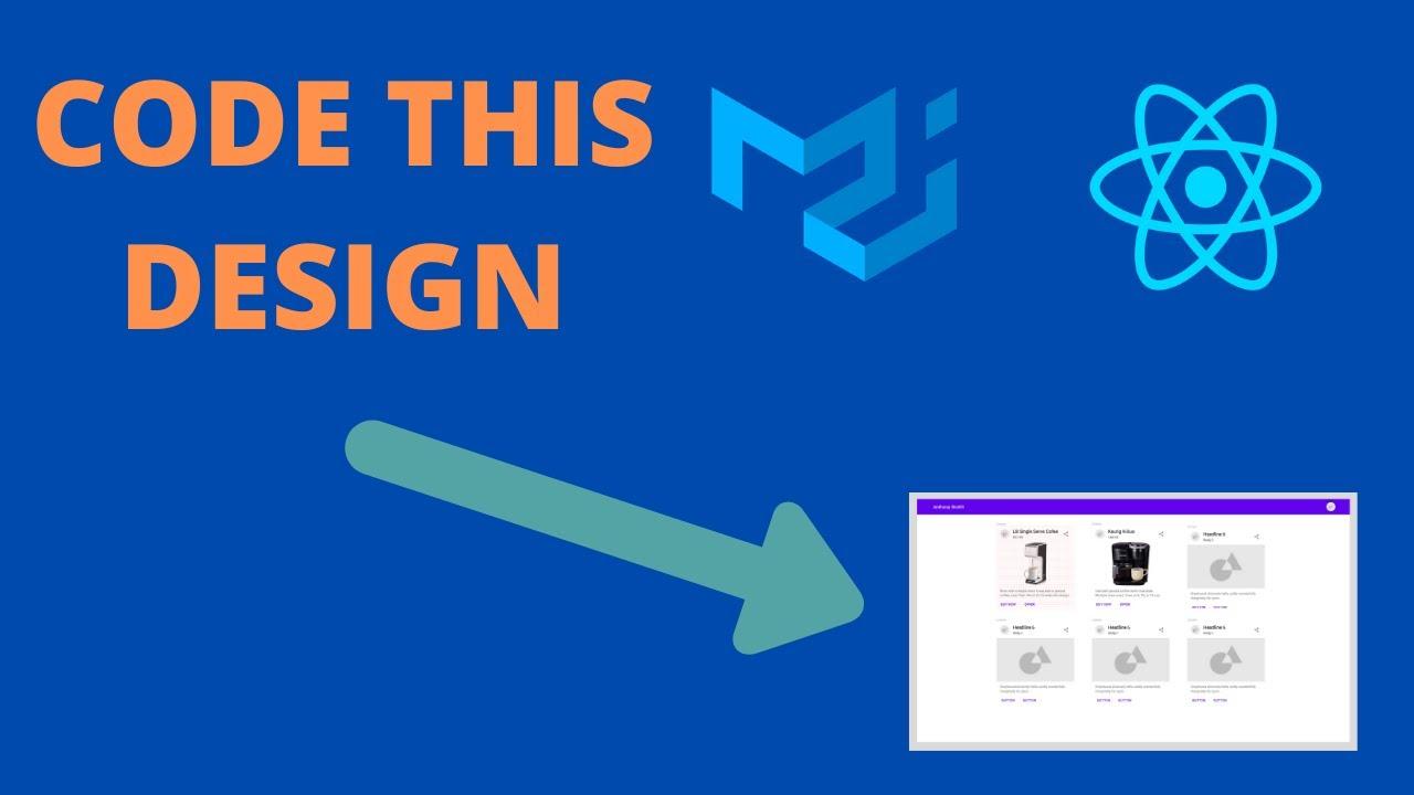 React + Material UI: Actually Coding a UX Design
