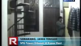 SPG Tewas Dibunuh di Kamar Kost