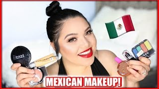 FULL FACE USING ONLY MEXICAN MAKEUP!