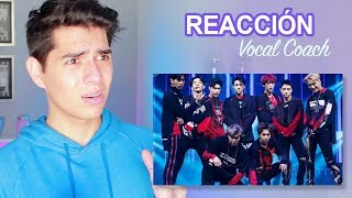 Reacción a la Voz Real de EXO por Primera Vez - Vocal Coach Reacciona   Vargott