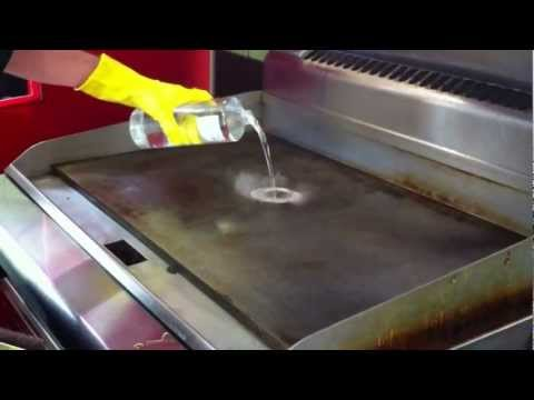 Southern Hospitality's Griddle Clean