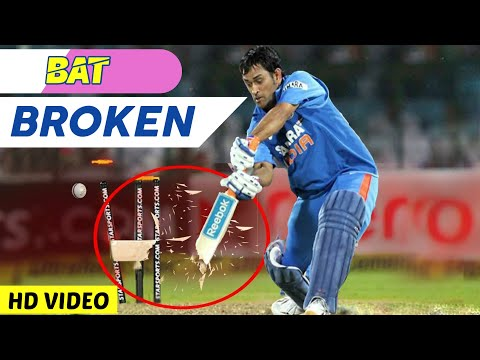 Top 14 Bats Broken Deliveries In Cricket Ever 2017 | Bat Broken In Cricket | AG Flex HD