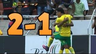 South Africa vs Senegal 2-1 ( all goals ) World cup 2018 Qualifiers HD