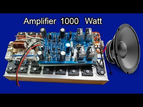 [SCHEMATICS_4FR]  How to make simple 12W amplifier circuit IC D2030A Audio Amplifier - YouTube | Dc12v Audio 1000w Amplifier Circuit Diagrams |  | YouTube