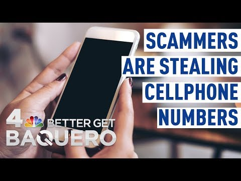 Scammers Are Stealing Cellphone Numbers