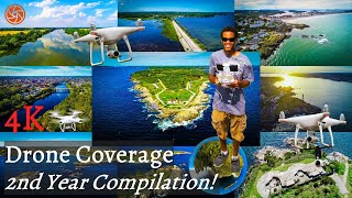 4K Drone Coverage | 2nd Year Compilation