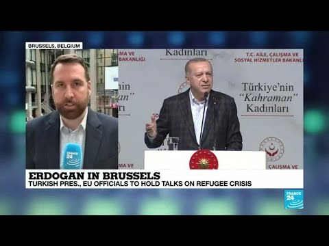 Erdogan in Brussels: What is the Turkish president in Belgium for?