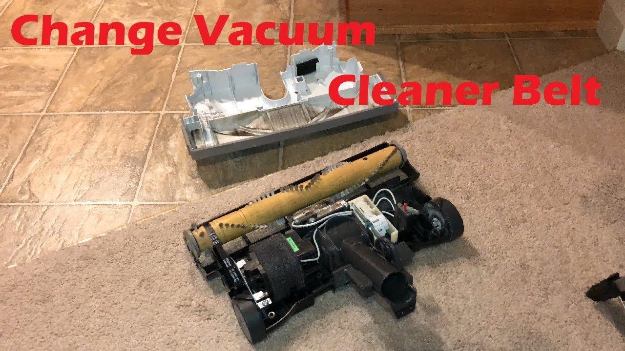Tutorial Kenmore Canister Vacuum Cleaner Belt Change