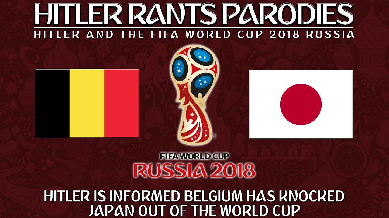 Hitler is informed Belgium has knocked Japan out of the World Cup