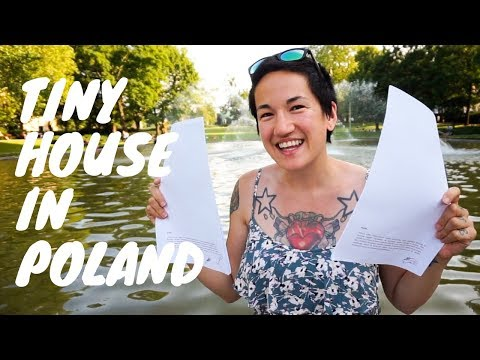 Building a Tiny House in Poland! Signing Our Lease & Why We Don't Need A Permit