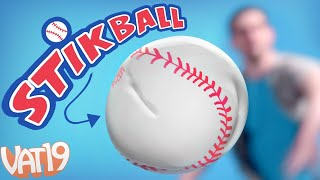 STIKBALL: The Squishy, Sticky Indoor Baseball