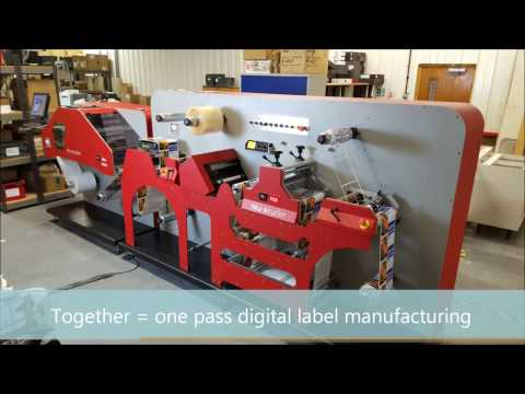 NEW SOLUTION NSPro + NSF22 DIGITAL LABEL PRINTING - KTEC GROUP UK