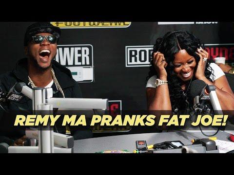 Remy Ma Pranks Fat Joe! 'R U Down?!'