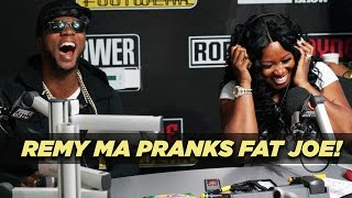 Remy Ma Pranks Fat Joe!