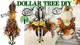 "6 DOLLAR TREE DIY DESIGNER FALL DECOR CRAFTS 2020 🍁 ""I Love Fall"" ep 3 Olivia's Romantic Home DIY"