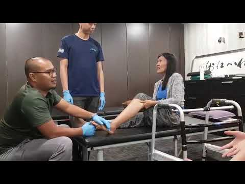 (Ankle Injury) Treatment in Mid Valley Center (July 30, 2019) by: Elite Team 😘 🌍 👍🏼 💯 💪 🙏 👌🏻❤
