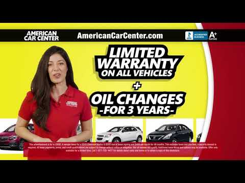 Used Car Dealership American Car Center