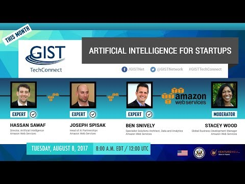 GIST TechConnect: Artificial Intelligence for Startups