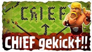 CHIEF GEKICKT - OHNE GRUND 🤔 | Clash of Clans Deutsch | Let´s Play COC