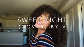 Gambar cover Sweet Night (cover) By V(of BTS)