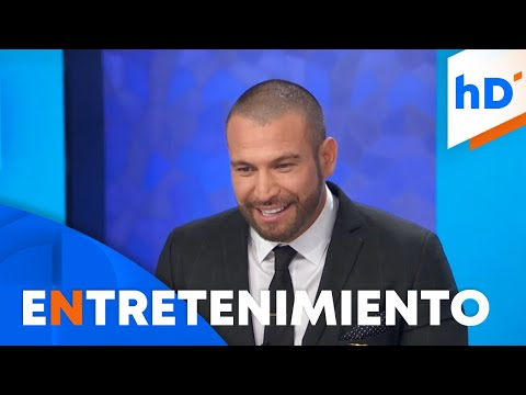 """Rafael Amaya: """"Hubo gente que me ayudó a salir del hoyo""""   hoyDía   Telemundo"""