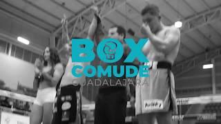 Función Box COMUDE y la promotora Clase y Talento.