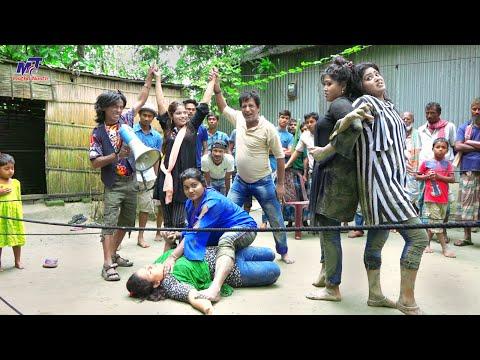 মেয়েদের কুস্তি খেলার প্রতিযোগিতা | নতুন পর্ব | ভাদাইমা | Vadaima Koutuk 2021