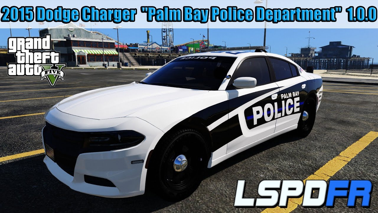 gta 5 lspdfr 2015 dodge charger palm bay police
