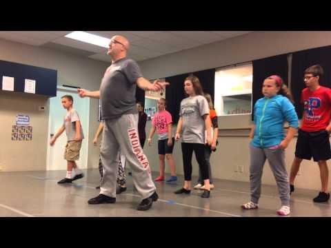 Stage School Newsies Older Kids (no music talkthrough)
