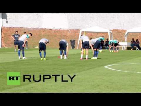 Brazil: Portuguese team prepare to face-off against Germany