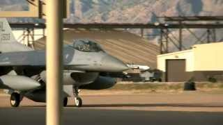 F-16 Fighter Squadron Returns After Being Deployed to South Korea