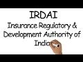 IRDAI | Insurance Regulatory and Development Authority of India | all about IRDAI