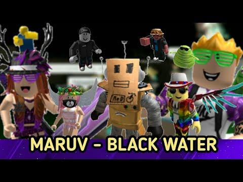 MARUV - BLACK WATER. Мой первый Роблокс музыкальный клип. Не судите строго :)